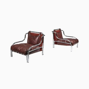Stringa Armchairs by Gae Aulenti for Poltronova, 1962, Set of 2