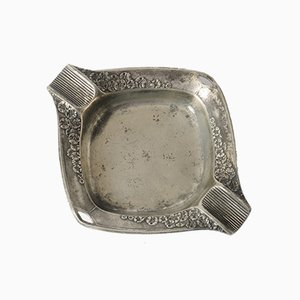 Art Nouveau Pewter Ashtray from Orivit, 1900s