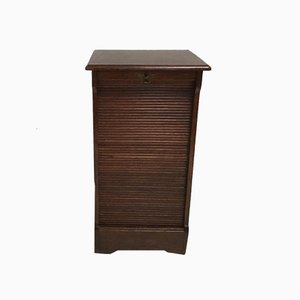 Oak Roller Cabinet, 1960s