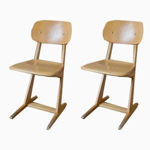 Chaises pour Enfants de Casala, 1960s, Set de 2