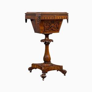 Table à Coudre Antique en Palissandre