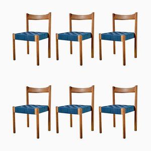 Modernist Dining Chairs, 1960s, Set of 6