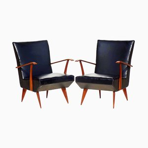Armchairs by Giulia Veronesi, 1950s, Set of 2