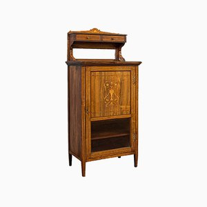 Antique English Music Cabinet