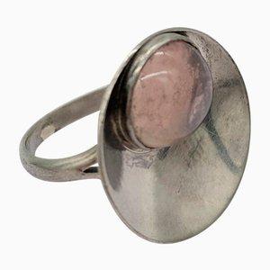 Anello in argento danese di N.E. da