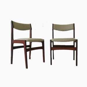 Danish Rosewood Dining Chairs, 1960s, Set of 2
