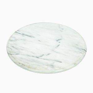 Drehbares Marmor Tablett von Angelo Mangiarotti für Skipper, 1970er