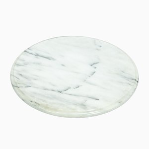 Marble Swivel Tray by Angelo Mangiarotti for Skipper, 1970s