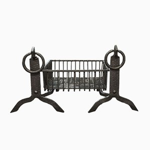 Antique English Fireplace Set