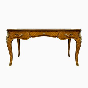 Louis XV Curved Rosewood Desk
