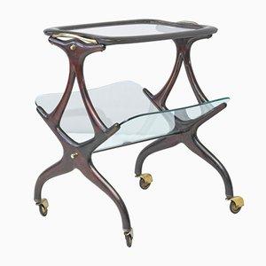 Tavolo con rotelle di Cesare Lacca per Cassina, anni '50