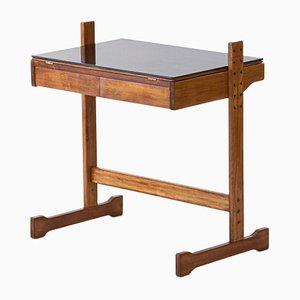 Italian Beech Desk, 1950s