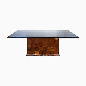 Mid-Century Italian Dining Table by Willy Rizzo