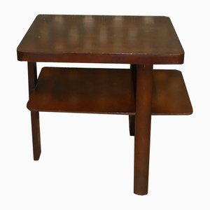 Vintage Side Table with 3 Legs, 1940s