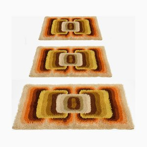 Wool Carpets from Samit Borgosesia, 1970s, Set of 3