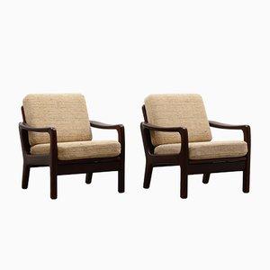 Armchairs by Juul Kristensen for JK Denmark, 1960s, Set of 2