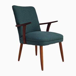 Dänischer Sessel aus Wolle & Teak, 1960er