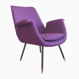 Italienischer Mid-Century Sessel von Gastone Rinaldi, 1960er