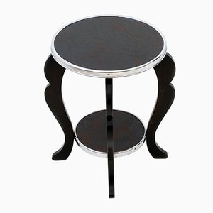 Art Deco Two-Tier Side Table