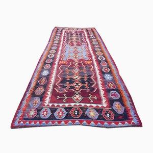 Vintage türkischer Kelim Teppich, 1970er Jahre