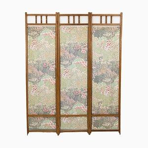 Art Deco Dutch Oak Folding Screen