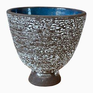 Brutalistischer Keramik Topf Deckel