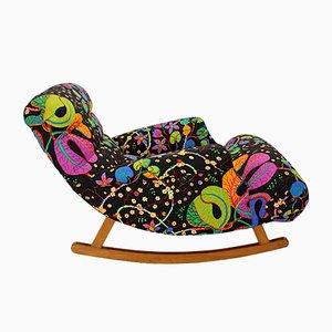 Rocking Chair dans le Style de Adolf Loos, 1920s