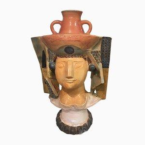Ceramic the Jar Carrier by Jean Derval, 1960s
