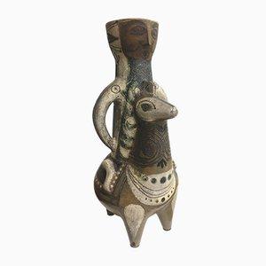 Ceramic Vase by Jean Derval, 1960s