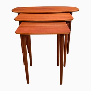 Side Tables, 1960s, Set of 3