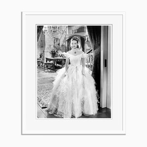 Bette Davis Jezebel Archival Pigment Print Framed in White by Everett Collection