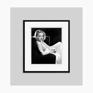 Endearing Davis Archival Pigment Print Framed in Black by Everett Collection