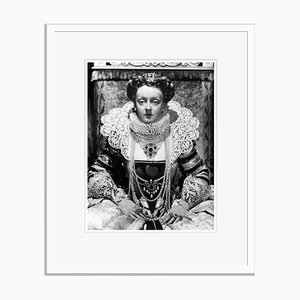 Acting Queen Archival Pigment Print Framed in White by Everett Collection