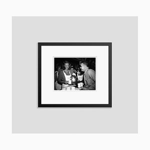 Bette Davis During Wwii Archival Pigment Print Framed in Black by Everett Collection