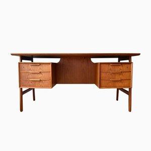 Teak Model 75 Desk from Gunni Oman, 1960s