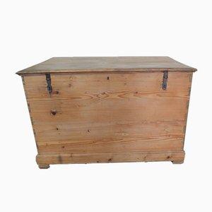 Tannenholz Arbeitstisch oder Box, 1950er Jahre