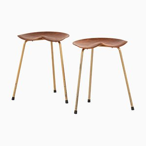 Danish Stools, Set of 2