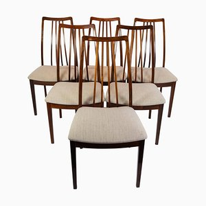 Rosewood Dining Chairs, Denmark, 1960s, Set of 6
