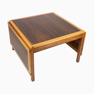Rosewood Coffee Table with Extensions by Børge Mogensen