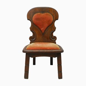 Spanish Mid Century Basque Chair, 1940s