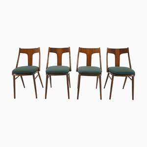 Dining Chairs, Czechoslovakia,1960s, Set of 4