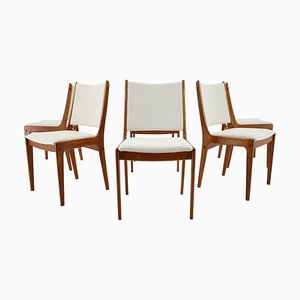 Teak Dining Chairs by Johannes Andersen for Uldum Mobelfabrik, Denmark, 1960s, Set of 6