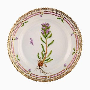Royal Copenhagen Flora Danica Salad Plate in Hand-Painted Porcelain