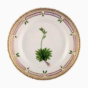 Royal Copenhagen Flora Danica Salad Plate in Hand-Painted Porcelain