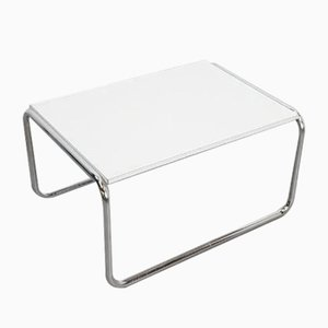 Vintage Tubular Steel Bauhaus Side Table or Coffee Table, 1960s