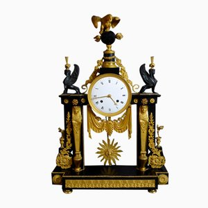 Winged Sphinxes Pendulum Clock