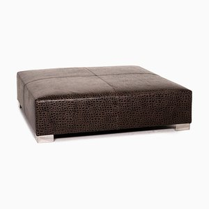 Dark Brown Ottoman Suitcase from Minotti