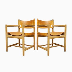 Mid-Century Model 3238 Dining Chairs by Børge Mogensen, Set of 4