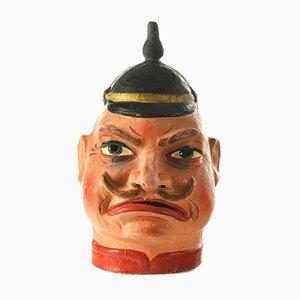 Showman Maske aus Pappmaché