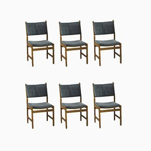 Danish Chairs by Kurt Østervig for KP Møbler, 1960s, Set of 6
